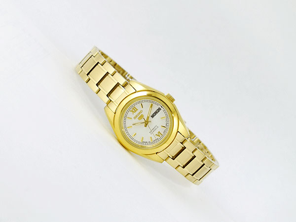 Seiko SEIKO 5 5 reverse Japan steel ladies automatic watch SYMK30J1 silver x bracelet gold silver metal belt