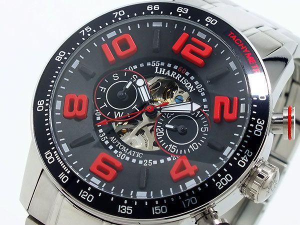 ジョンハリソン JOHN HARRISON 自動巻き 腕時計JH-020BR