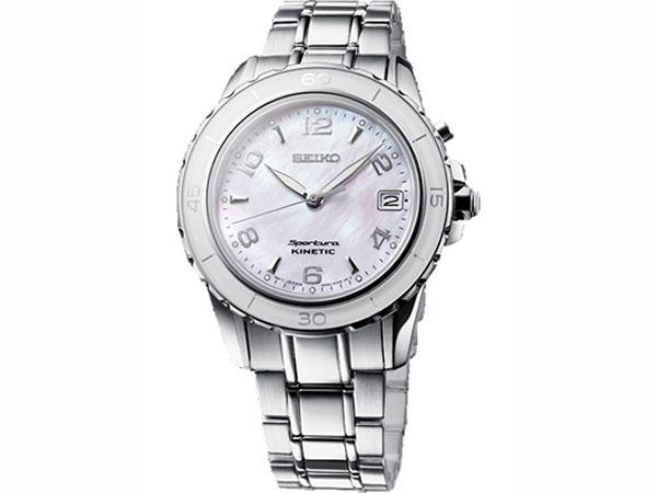 SEIKO 세이 코 키네틱 スポーチュラ 시계 여성용 SKA879P1