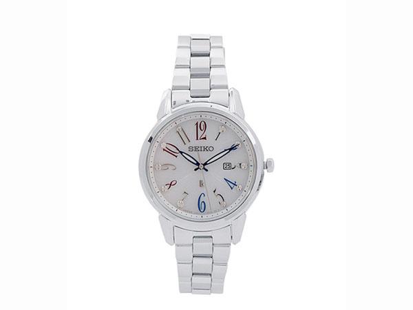 SEIKO 세이 코 역 수입 솔 라 여성용 시계 SUT295J1
