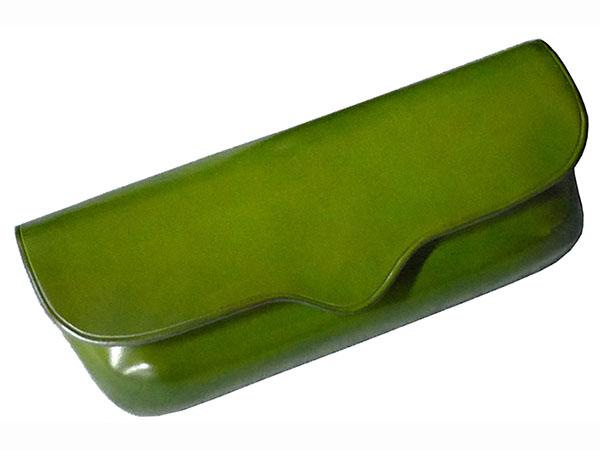 Il Bussetto イルブセット メガネケース 眼鏡入れ レザー 7815196 グリーン