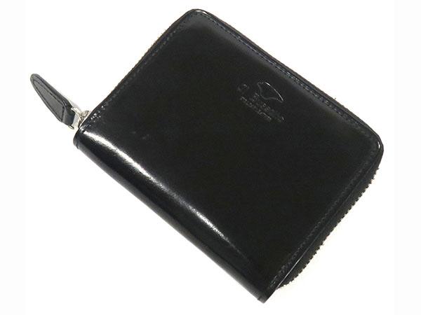 Il Bussetto イルブセット ラウンドジップ ミニ 短財布 メンズ 7815209 ブラック