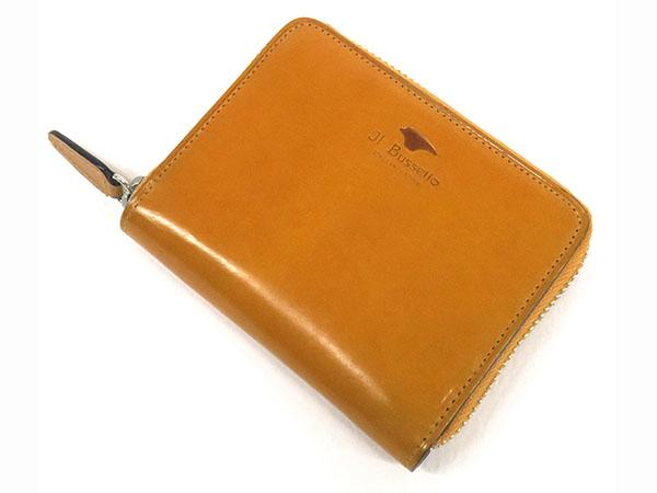 Il Bussetto イルブセット ラウンドジップ ミニ 短財布 メンズ 7815213 イエロー