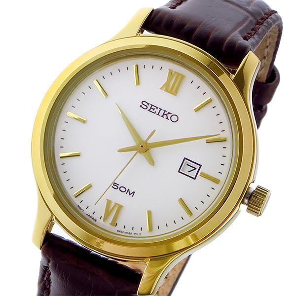 세이코 SEIKO 클래식 쿼츠 레이디스 손목시계 SUR702P1 화이트