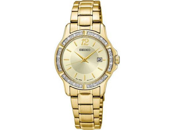 SEIKO SEIKO quartz Lady's watch SUR714P1 gold
