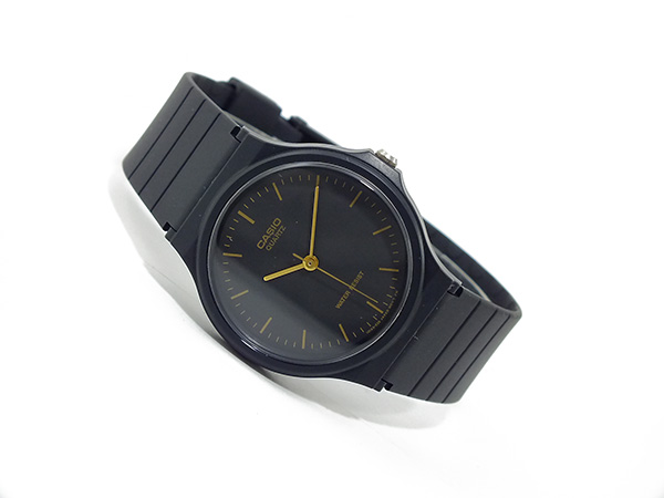 Casio CASIO quartz watch MQ24-1EL black