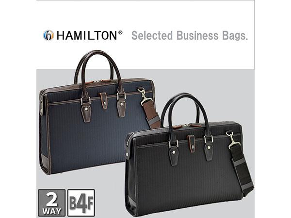 ハミルトン ビジネスバッグ ブリーフケース メンズ 26606 ブラック