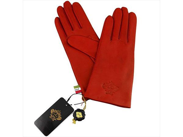オロビアンコ Orobianco レディース 手袋 グローブ レザー ORL-1582 レッド 20cm