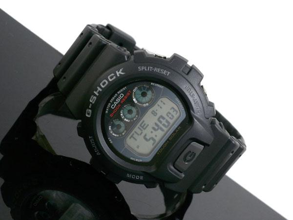카시오 CASIO G 충격 G-SHOCK 해외 모델 터프 솔 러 디지털 시계 G-6900-1 남성 블랙