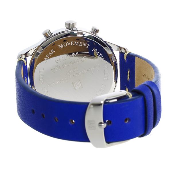 サルバトーレマーラ クロノグラフ クオーツ メンズ 腕時計 SM17110-SSBL