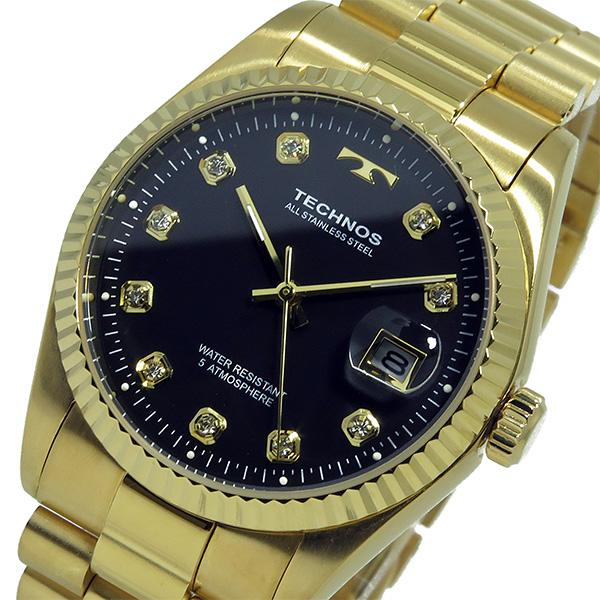 テクノス TECHNOS 腕時計 メンズ T9604GB クオーツ