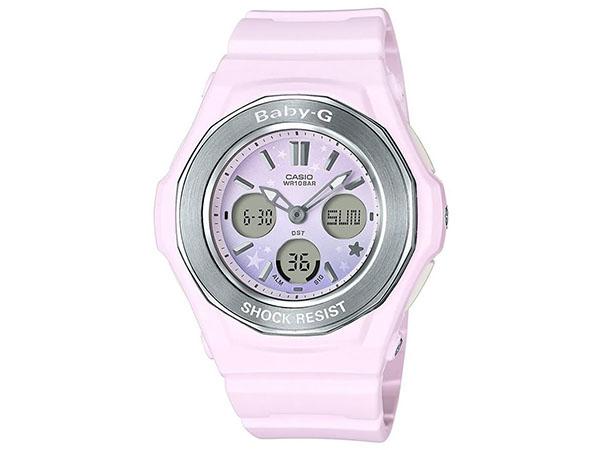 カシオ Baby-G ベビーG スターリー スカイ シリーズ レディース 腕時計 BGA-100ST-4A