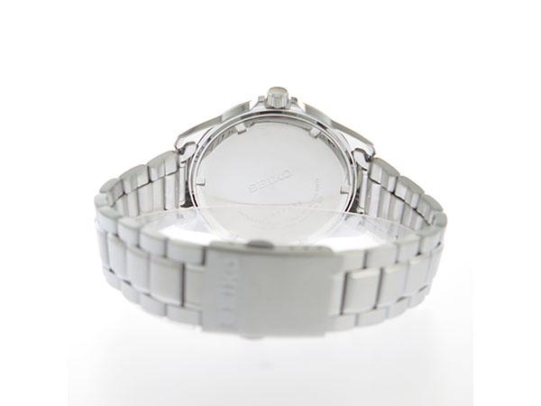 セイコー SEIKO クオーツ メンズ 腕時計 SUR241P1 ホワイト