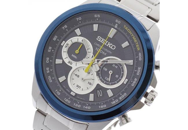 セイコー SEIKO 腕時計 メンズ SSB251P1 ネイビー シルバー