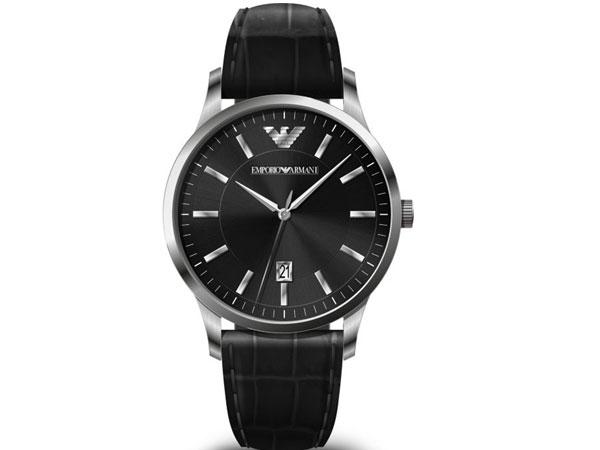 エンポリオアルマーニ EMPORIO ARMAN クオーツ メンズ 腕時計 AR11186 ブラック