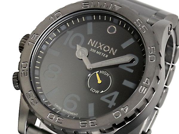 Nixon NIXON 51-30 watch A057-680 ALL GUNMETAL BLACK
