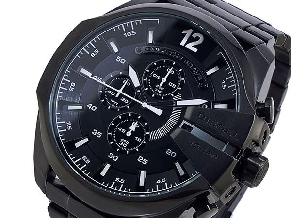 Diesel DIESEL chronograph metal belt watch men DZ4283 black
