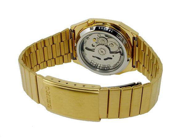 Self-winding watch men watch SNXK90J1 gold metal belt made in SEIKO 5 SEIKO 5 reimportation Japan
