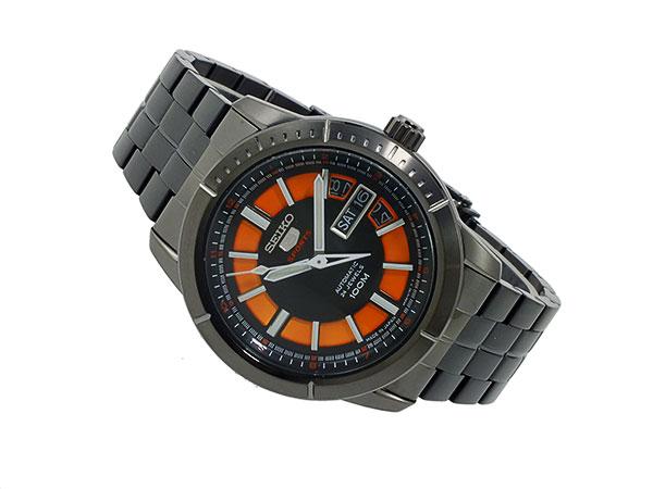 세이 코 파이브 SEIKO 5 스포츠 오토매틱 시계 SRP345J1 남성