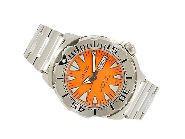 세이 코 SEIKO 오렌지 몬스터 시계 오토매틱 다이 버 SRP309K1