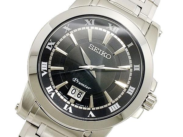 세이코 SEIKO Premier 쿼츠 맨즈 손목시계 SUR015P1
