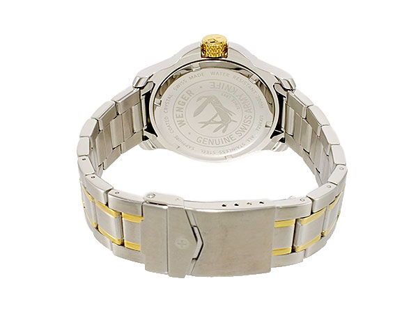 Wenger WENGER flump on diver quartz men watch 72346