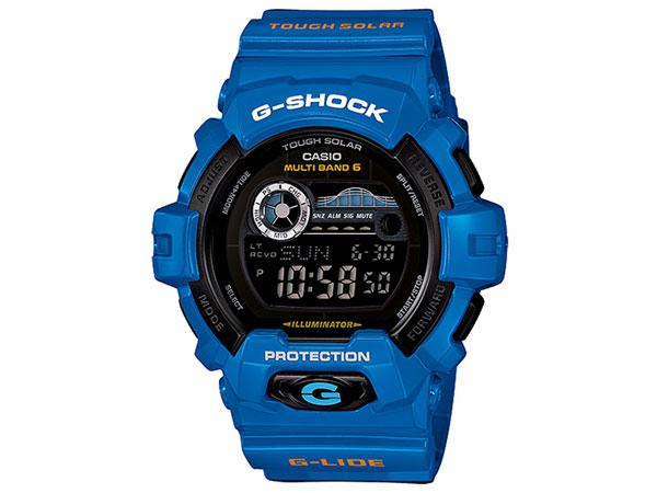 카시오 CASIO G 충격 G-SHOCK G-LIDE 시계 GWX-8900D-2 블루
