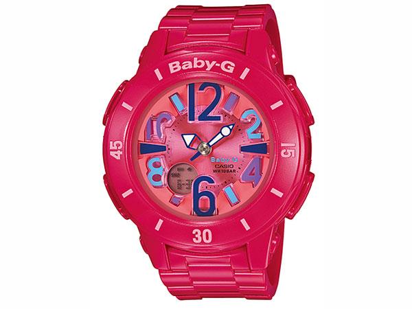 カシオ CASIO ベビーG Baby-G 腕時計 ネオン アナデジ BGA-171-4B1 レディース ピンク ラバーベルト