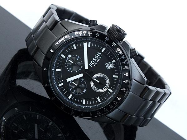 aaa net shop rakuten global market fossil fossil chronograph fossil fossil chronograph quartz watch ch2601 mens black represent
