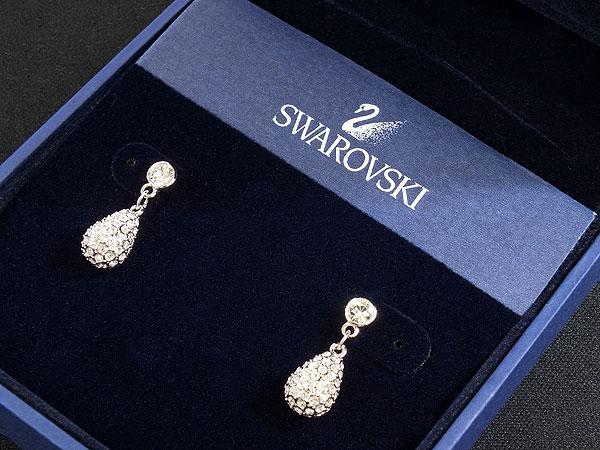 스와로브스키 SWAROVSKI 귀걸이 드롭 1075333 실버 여성