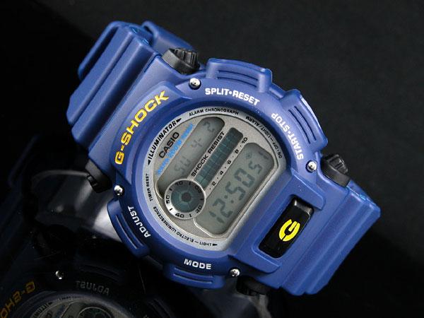 카시오 CASIO G 충격 G-SHOCK 해외 모델 디지털 남자 시계 BASIC 기본 DW-9052-2 블루