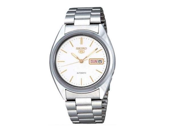 SEIKO 5 セイコー5 逆輸入 自動巻き メンズ 腕時計 SNXG47K メタルベルト