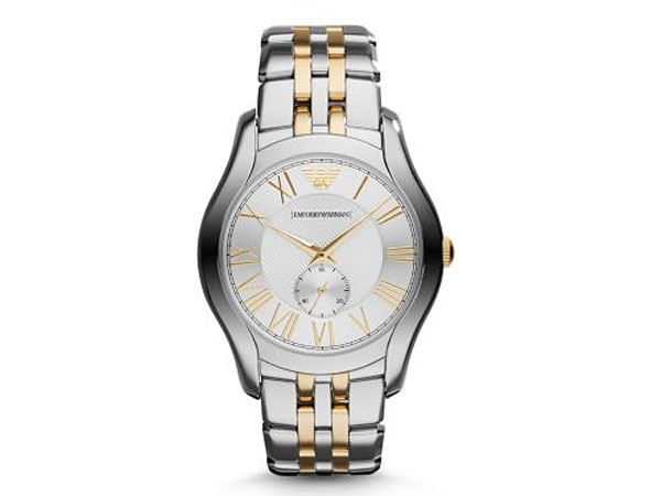 Emporio Armani EMPORIO ARMANI watch AR1844 mens Silver / Gold duo