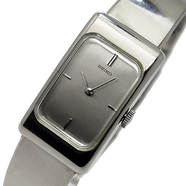 세이 코 SEIKO 와인딩 여성용 시계 ZWB13 실버