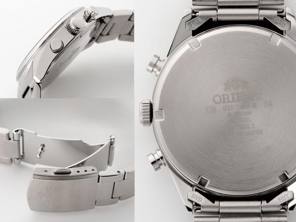 오리엔트 ORIENT ネオセブンティーズ 팬더 남성용 손목시계 크로 노 그래프 WV0021UZ
