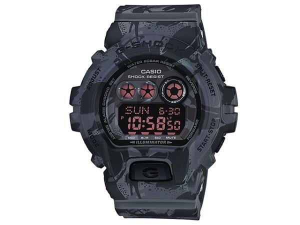 카시오 CASIO G 충격 G-SHOCK 역 수입 남성 시계 GD-X6900MC-1 위장