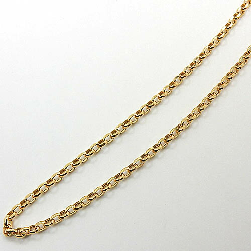 1.6ミリ幅 40センチ 18金ゴールド カットエスカルゴ チェーン(幅1.6mm・全長約40cm)一週間前後発送可