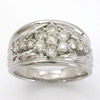 プラチナ(Pt900) ダイヤモンド リング 0.7カラット typeAAA 送料無料