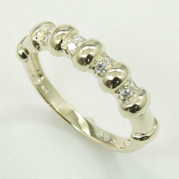 ダイヤモンド リング 0.07ct(VSクラス) 10金イエローゴールド 10金ホワイトゴールド 2種類ございます (K10YG K10WG ダイヤ0.07カラット) 送料無料