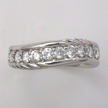 プラチナ(Pt900) ダイヤモンド スイートテン リング 0.5カラット typeAA 送料無料