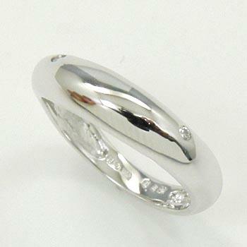 リング ダイヤモンド(VSクラス) 0.02カラット 10金(K10)ホワイトゴールド 10(K10)金ピンクゴールド の2種類ございます 送料無料