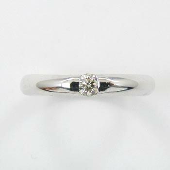 K18WG/K18の2種類よりお選びください。ダイヤモンド0.1カラット(0.1ct)リングtypeAAA