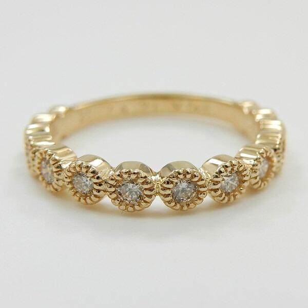 ダイヤモンド 0.2カラット(SI1 H)リング18金ピンクゴールド/18金/18金ホワイトゴールド3種類からお選びいただけます。代引手数料無料
