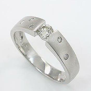 プラチナ(Pt900) ダイヤモンド リング 0.25カラット typeAAA 送料無料
