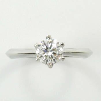 プラチナ(Pt900) ダイヤモンド リング 0.5カラット 一粒 typeAA 送料無料