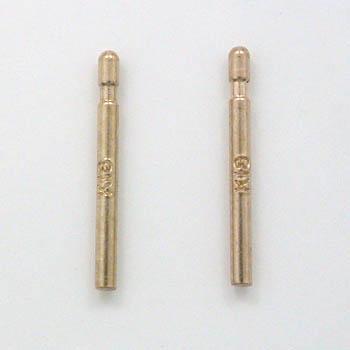 K18PGピアス芯(太さ0.7mm長さ11mm)