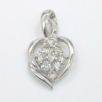 あす楽 プラチナ(PT900) ダイヤモンド 0.5ct ペンダントヘッドtypeAAA