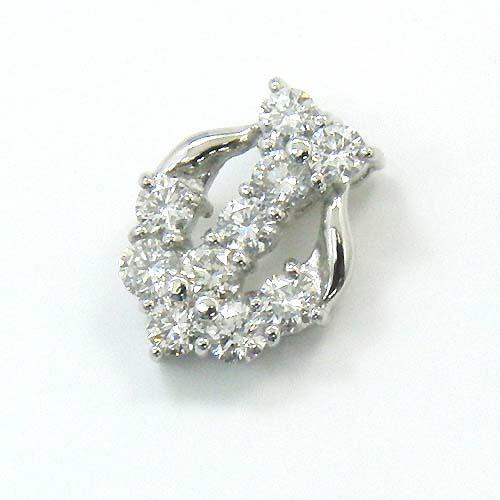 ダイヤモンドペンダントPT900天然ダイヤモンド typeAAA 0.5ctペンダント ヘッド