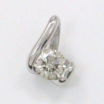 プラチナ(PT900) ダイヤモンド 0.3ctペンダントヘッドtypeAA【送料無料】