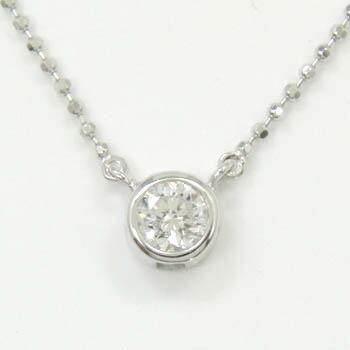 あす楽 18金ホワイトゴールド  ダイヤモンド 0.25ct ペンダントネックレスtypeAA送料無料